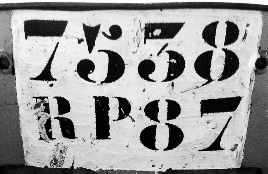 NumbersB&W
