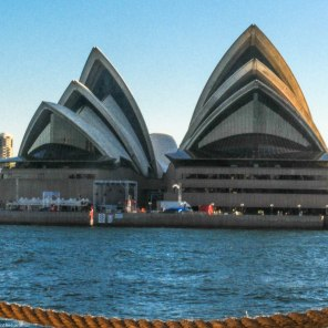 The iconic Sydney Opera House